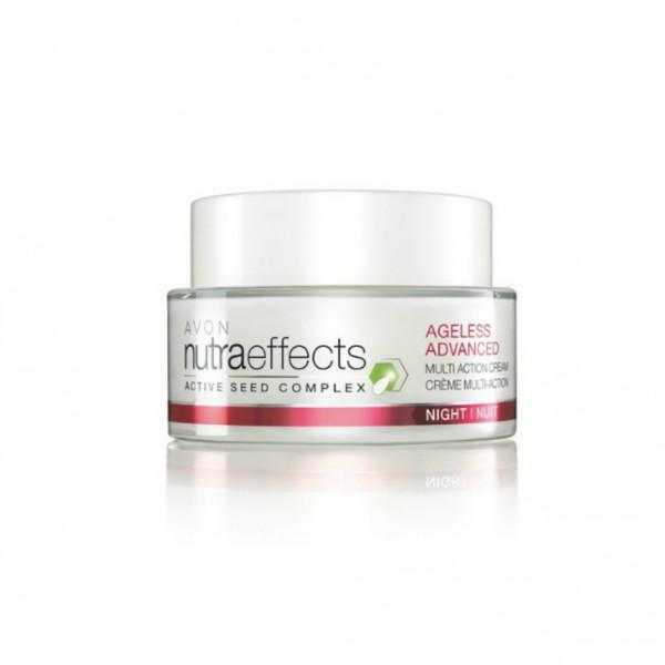 AVON NutraEffects Ageless Advanced 45+ Multi-Action Night Cream 50ml