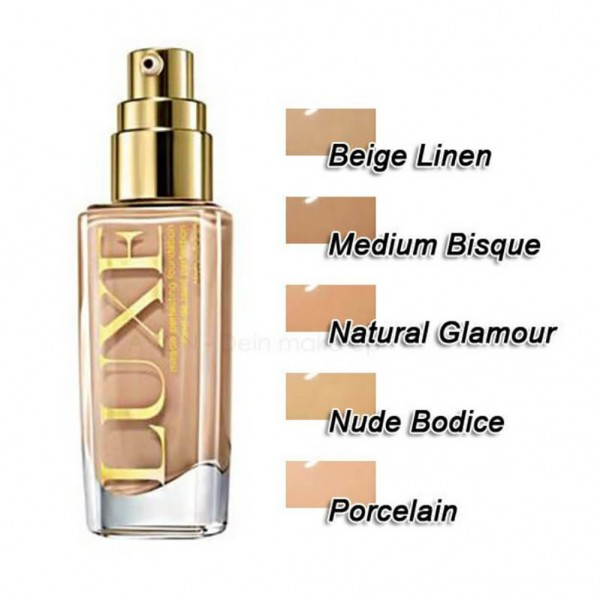 AVON Luxe Silken Foundation Beige Linen 30ml