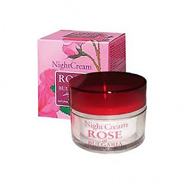 Κρέμα νύχτας  με τριαντάφυλλο   50ml Biofresh