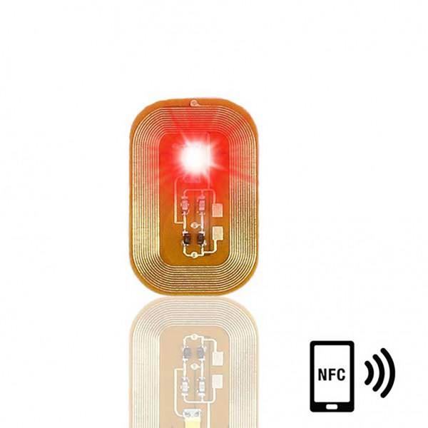 Λαμπάκι Νυχιού NFC- Κόκκινο