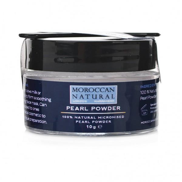Moroccan Natural - 100% Φυσική Σκόνη Μαργαριταριού! Συσφίγγει, Ενυδατώνει & Δίνει Λάμψη! 10gr